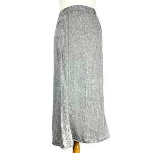 Flax Jeanne Engelhart Lagenlook LInen Maxi Skirt